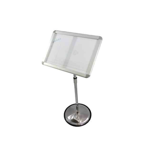 SBS-053      Stainless Steel A3 Signboard Stand- 360°