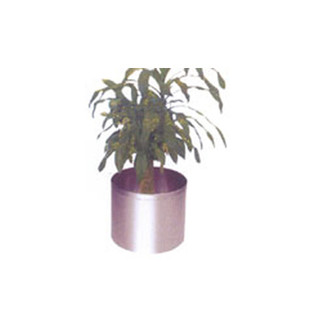 STAINLESS STEEL          PLANTER POTS