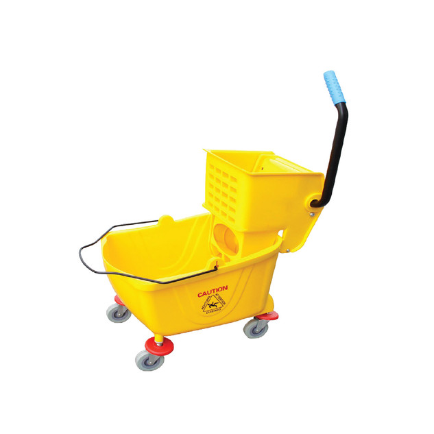 EMP-32L Single Mop Bucket - 32L (Side Press)