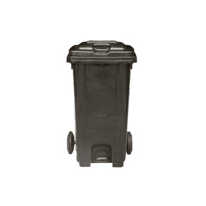 Mobile Garbage Bin With Foot Pedal 120L