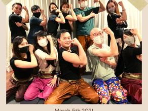3/5(金) タイマッサージ練習会