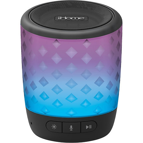 Color Changing Rechargeable Bluetooth  Speaker iHome iBT81B