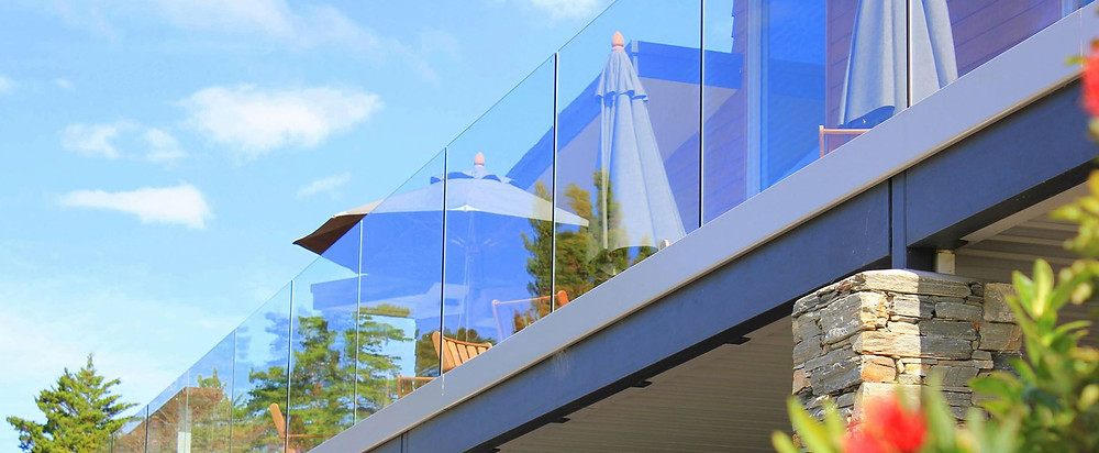 Provista frameless glass balustrades