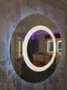 UniLED LED backlit mirror at the Tauranga Home Show
