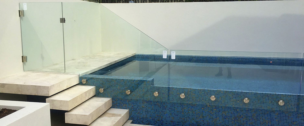 Provista pool and spa fencing