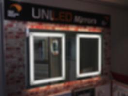 UniLED LED mirrors at the Tauranga Home Show