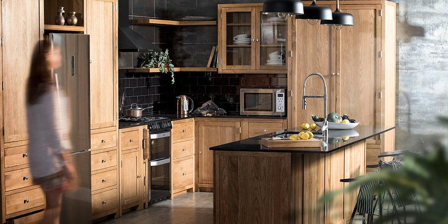 Besp-Oak Furniture oak kitchen