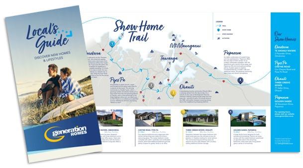 Generation Homes showhome trail