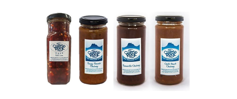 Castle Rock Chutneys