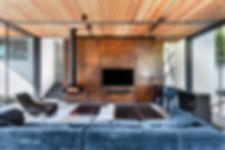 The Art of Fire Ortal gas fireplace