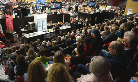 Annabelle White at the Seriously Good Food Show