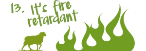 Green Sheep Insulation & Home Comfort fire retardant