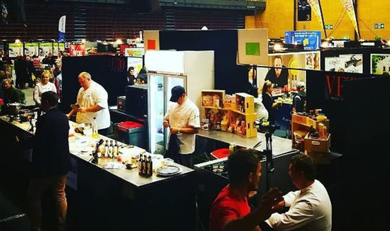 Local chefs at the Seriously Good Food Show