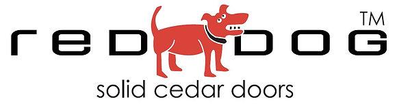 Red Dog Solid Cedar Doors