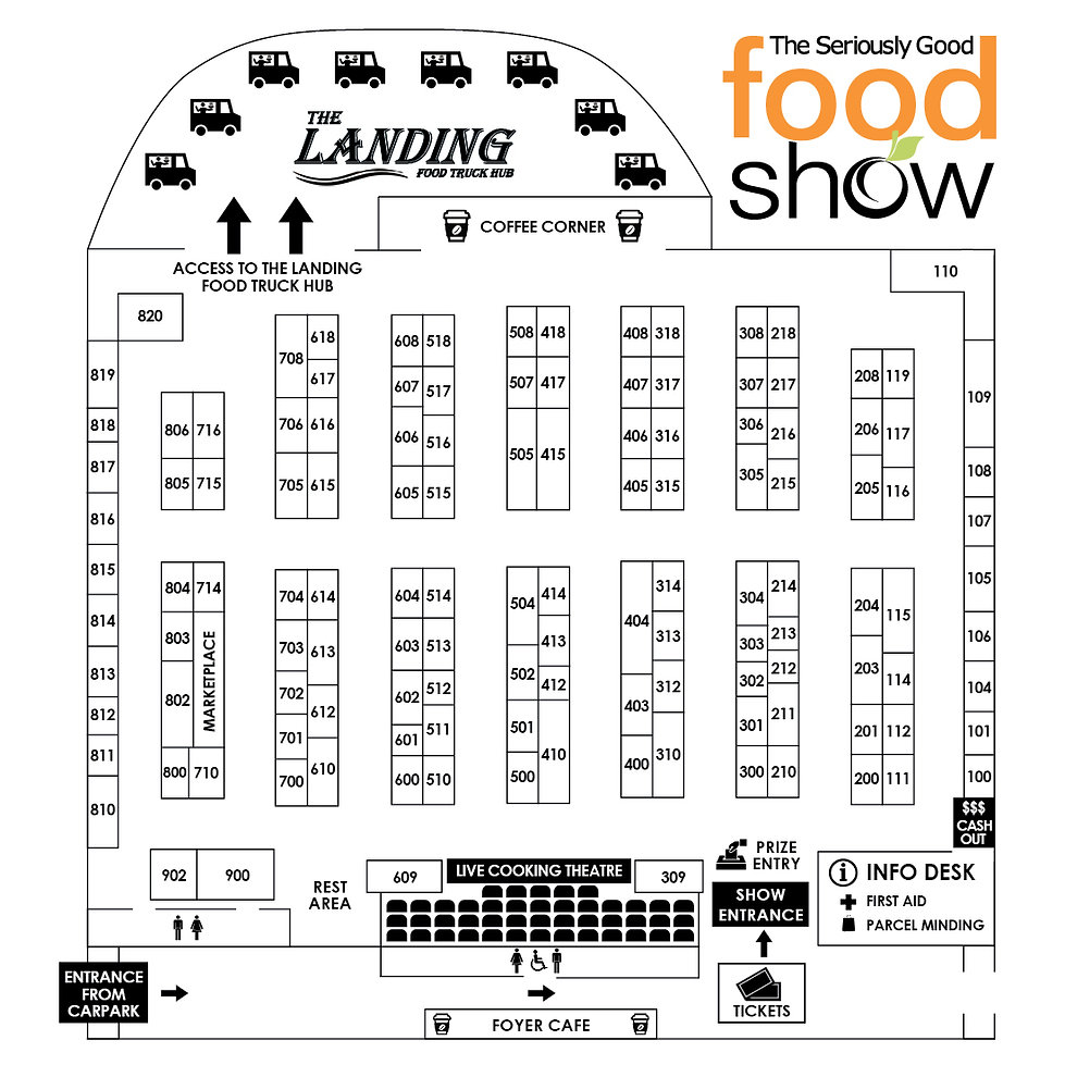 2021 Seriously Good Food Show visitor ma