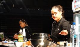 Karena & Kasey Bird at the Seriously Good Food Show