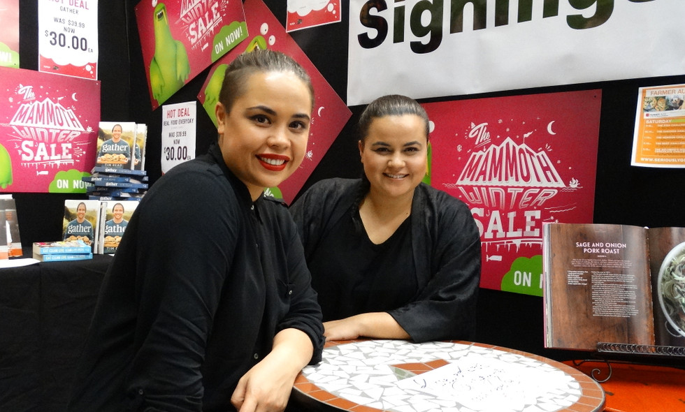 Karena & Kasey Bird at the Seriously Good Food Show