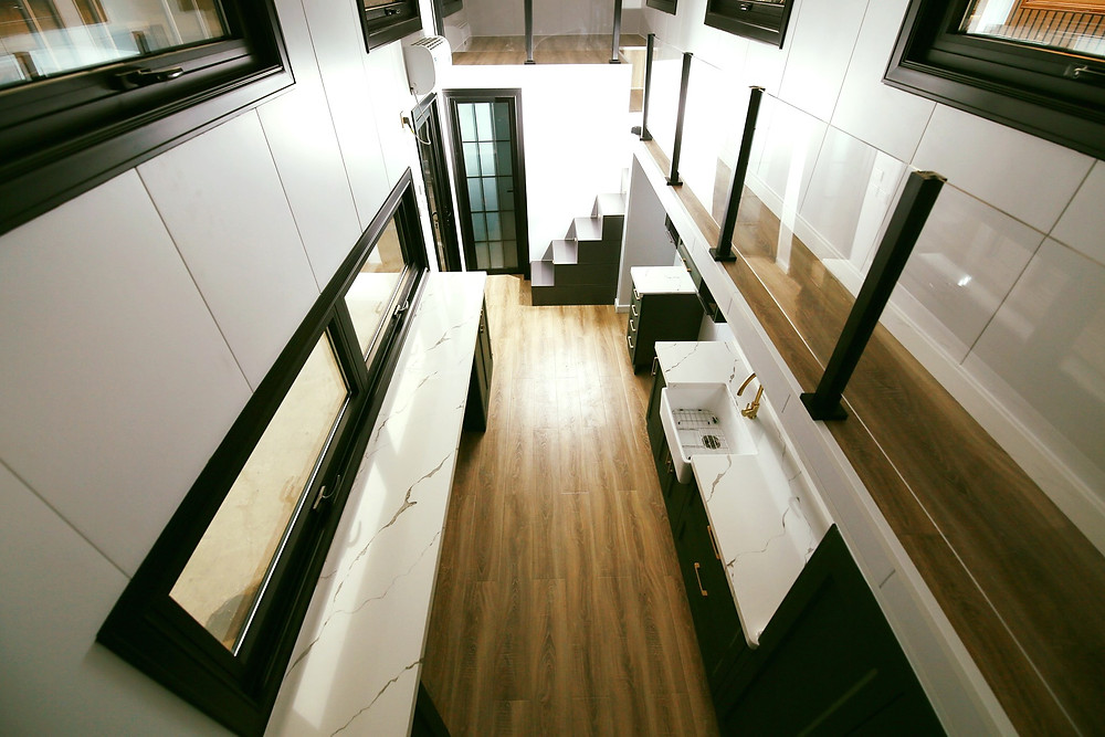 Amazing Spaces tiny home interior