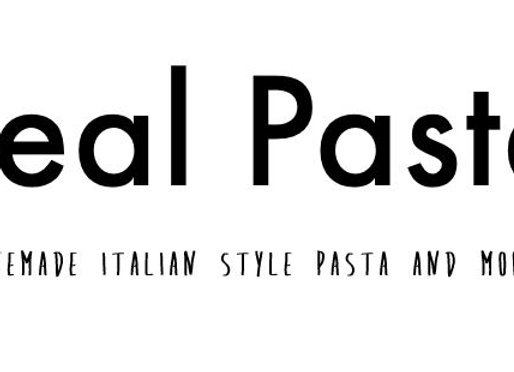 Real Pasta