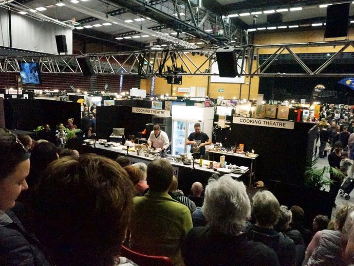 Ben Hurley & Peter Blakeway - Live Cooking Theatre