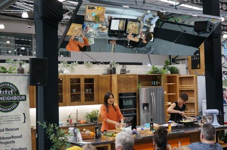 Nadia Lim at the Tauranga Home Show