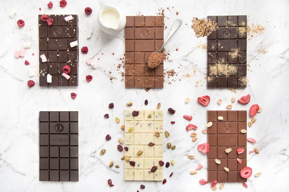 Remarkable Chocolate Co range