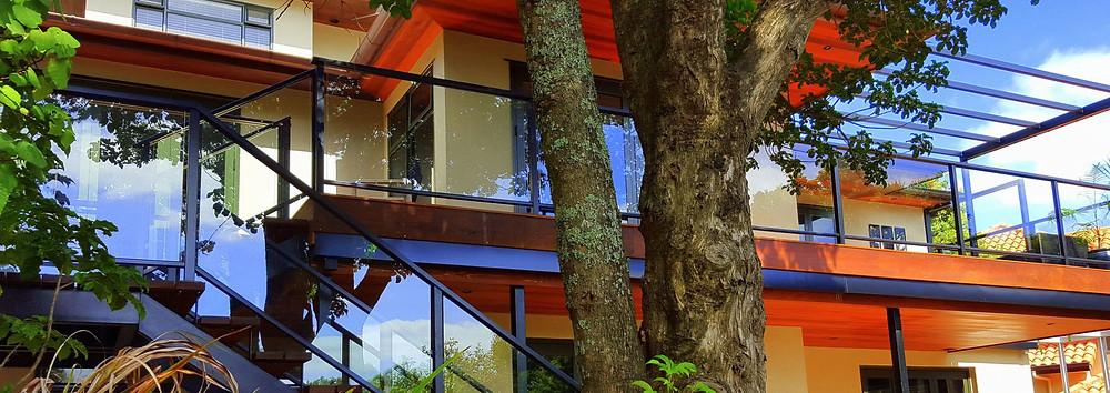Provista framed glass balustrades