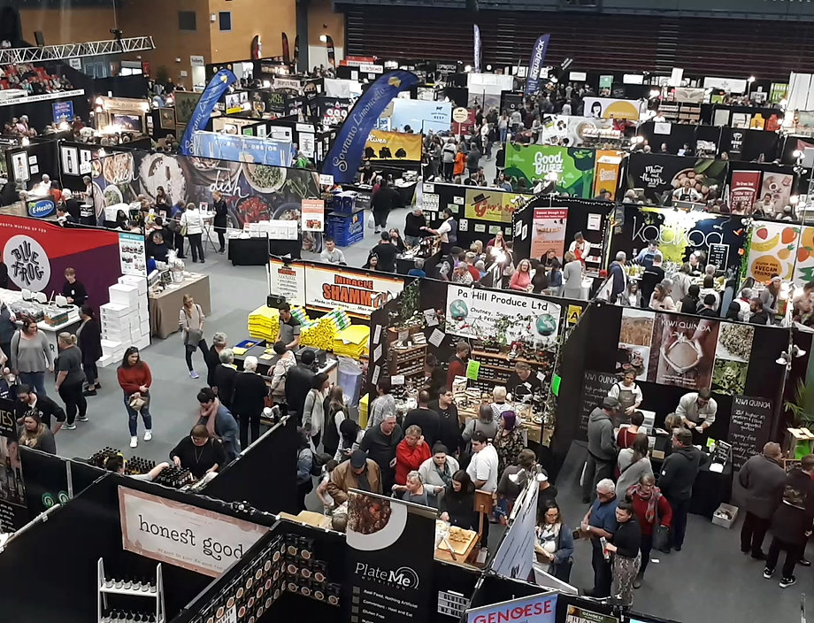 The 2019 Seriously Good Food Show timelapse video