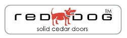 Red Dog Solid Cedar Doors