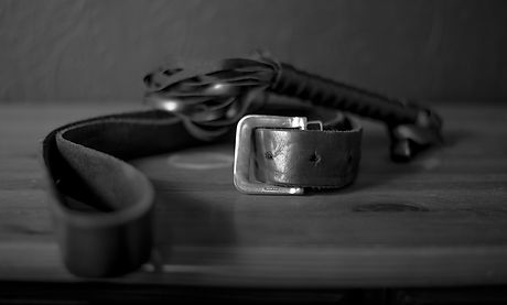 Leather belt and flogger