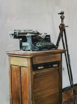 Vecchia macchina per scrivere, 1998