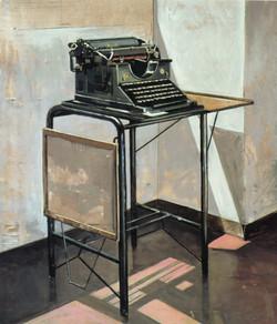 Vecchia macchina per scrivere, 1999