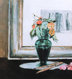 Fiori con incisione di Morandi, 1993