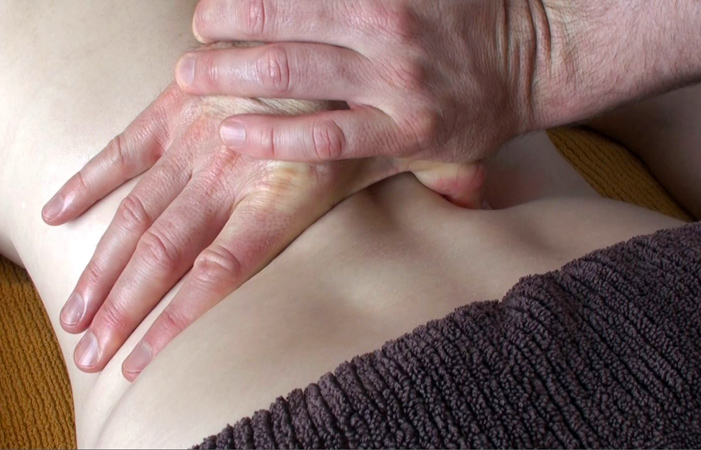 Deep-tissue for lower back