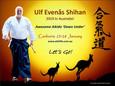 Ulf Evenas Shihan - Canberra Aikido Seminar 2019
