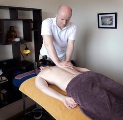 Back and shoulder tension release