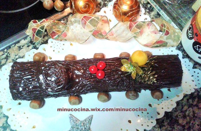 Tronco de navidad minu cocina en la comunidad de cocina for Cocina 5 ingredientes jamie