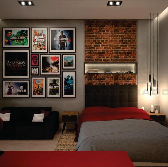 Dormitório adolescente