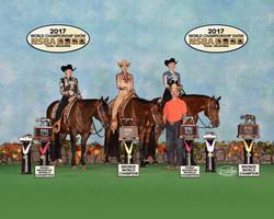 Jewett girls in horsemanship
