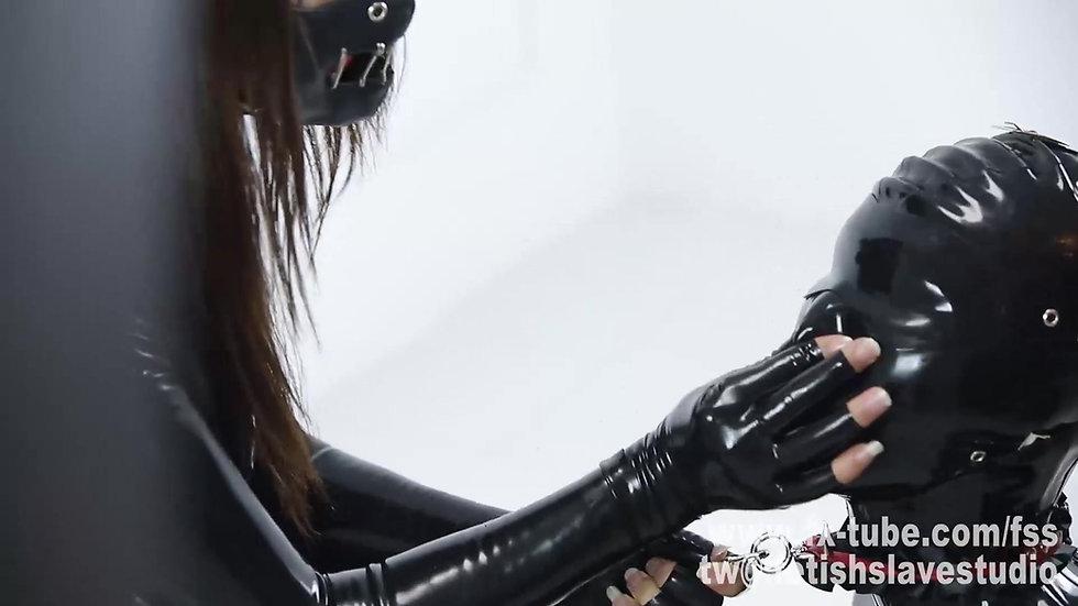 Mistress Femdom Latex Slave Part2
