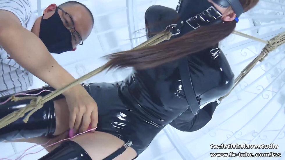 PVC fetish JK bondage femdom