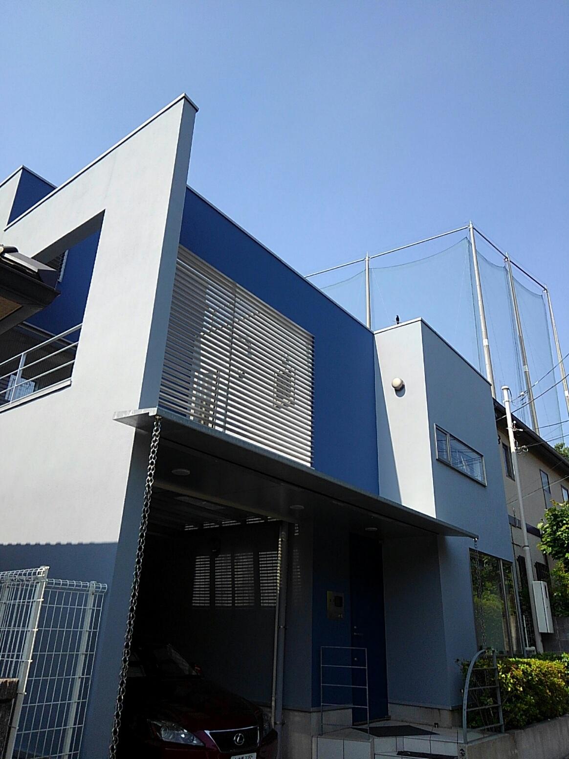 築15年目の外壁改修
