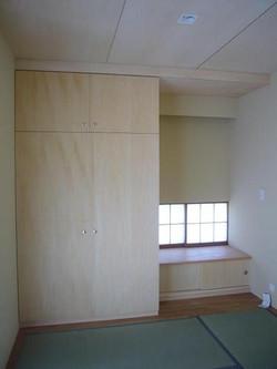 和室の造り付け収納