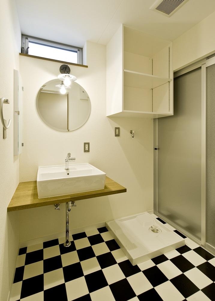 子世帯の洗面脱衣室