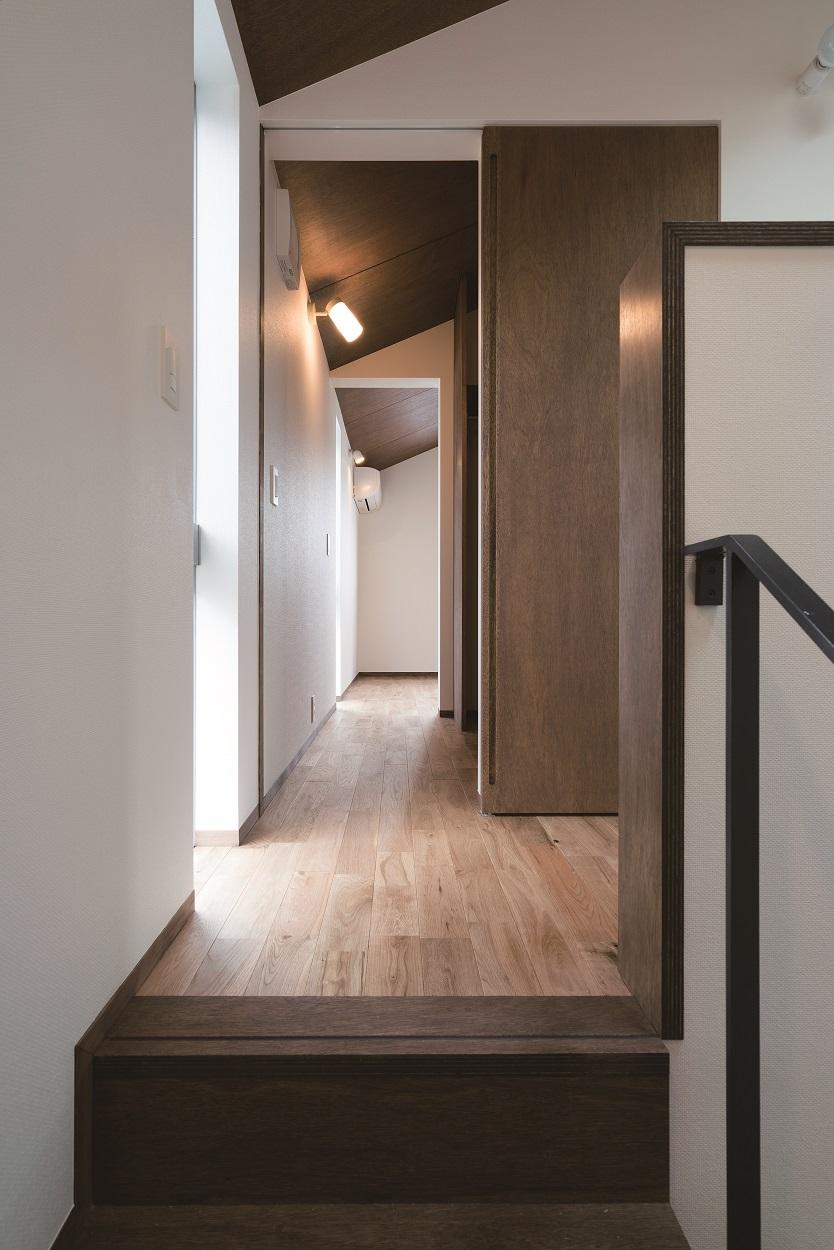 階段室からウォークインクローゼットへ直接出入り可能