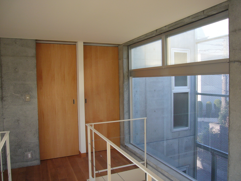 2階の渡り廊下