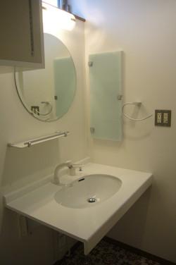 親世帯の洗面室