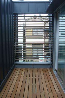 2階の屋外テラス