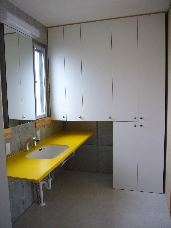 2階子世帯の洗面室