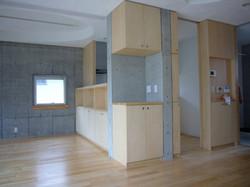 2階子世帯のダイニング・キッチン